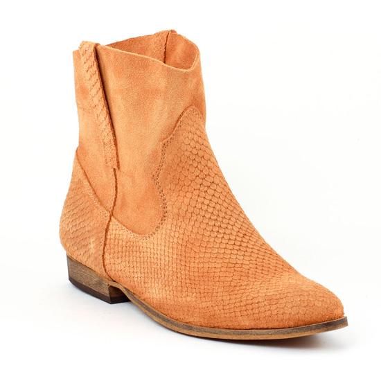 Bottines Et Boots Tamaris 25711 Curry, vue principale de la chaussure femme