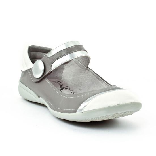 Babies Fugitive Abbo Gris Multi, vue principale de la chaussure femme