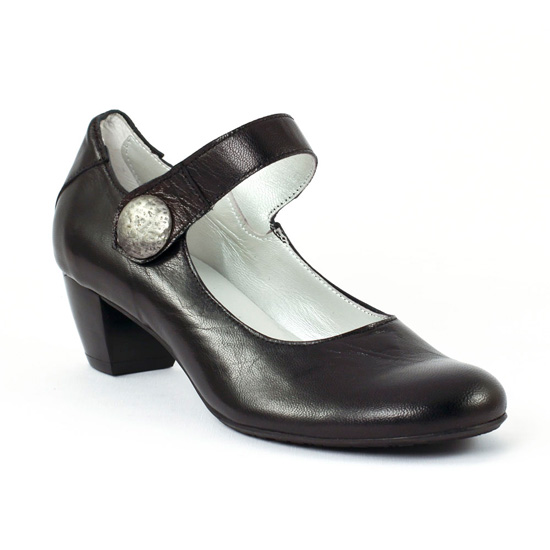 Escarpins Scarlatine 7693 Noir, vue principale de la chaussure femme