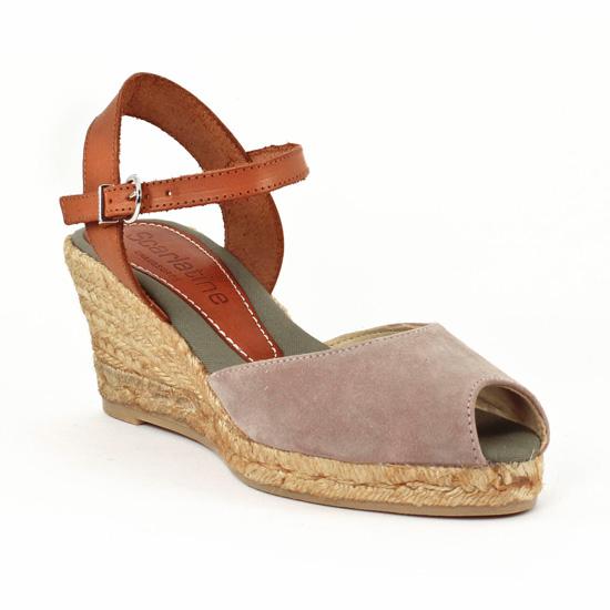 Espadrilles Scarlatine LG5A15 Ceniza, vue principale de la chaussure femme