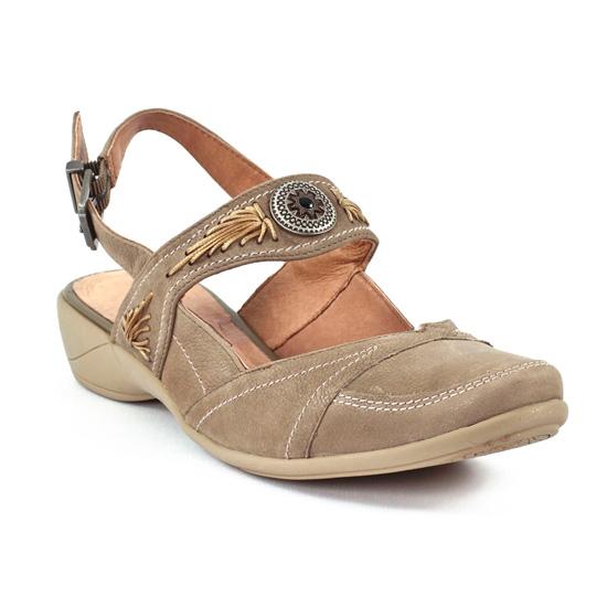 Nu Pieds Et Sandales Mamzelle Gulli Taupe, vue principale de la chaussure femme