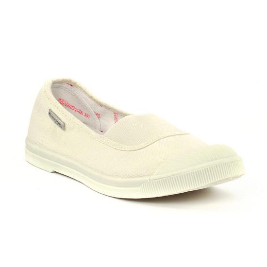 Tennis Et Baskets Mode Les Tropeziennes Tahina Blanc cassé, vue principale de la chaussure femme