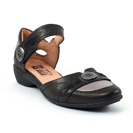 Escarpins Mamzelle Gime Noir Etain, vue principale de la chaussure femme