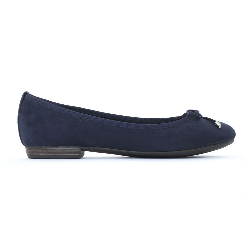22135, Ballerines Femme, Bleu (Navy), 37 EUMarco Tozzi