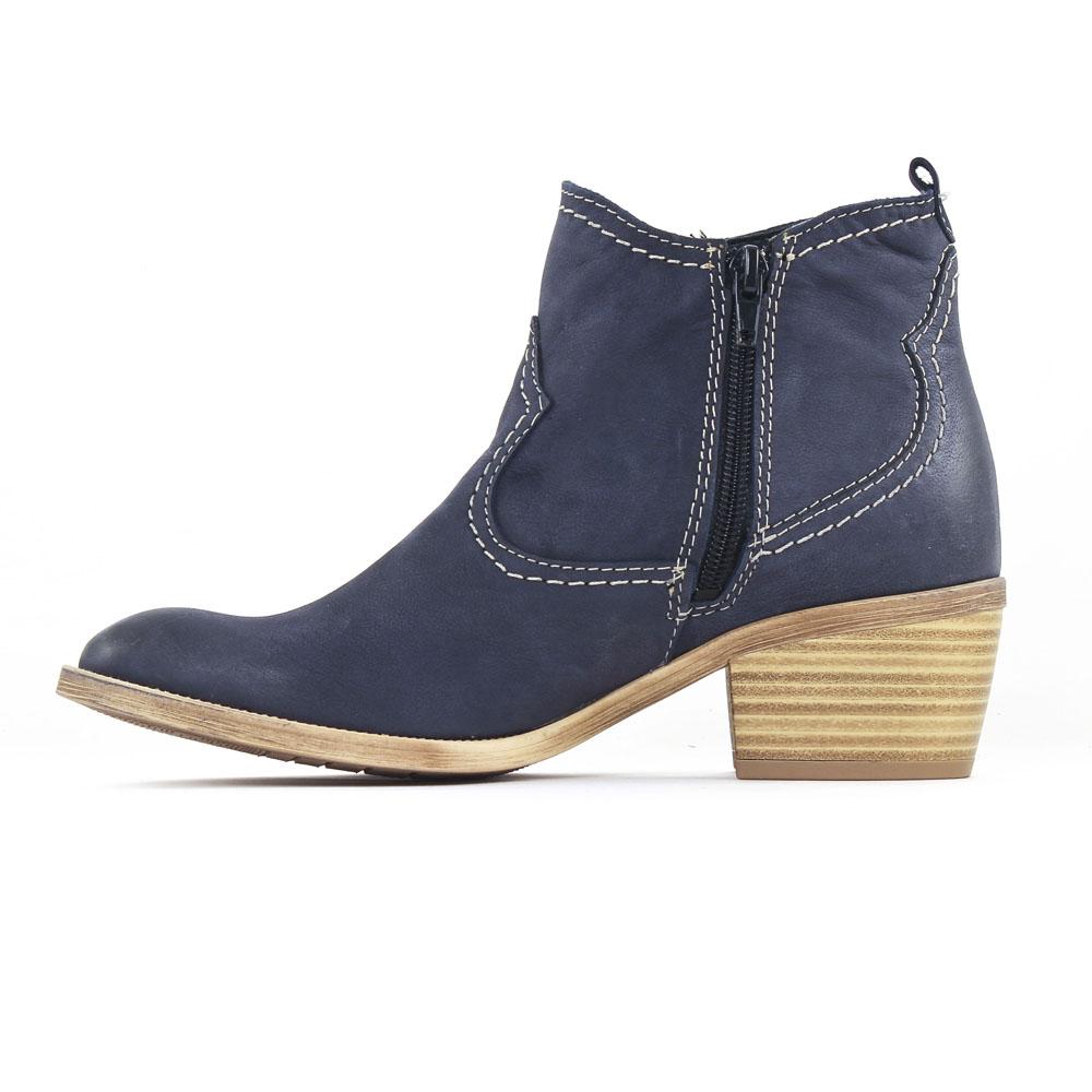 boots talon de la marque tamaris de couleur bleu marine superbes boots car interior design. Black Bedroom Furniture Sets. Home Design Ideas