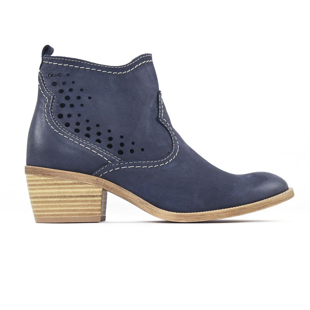 tamaris 25702 denim boots bleu printemps t chez trois par 3. Black Bedroom Furniture Sets. Home Design Ideas