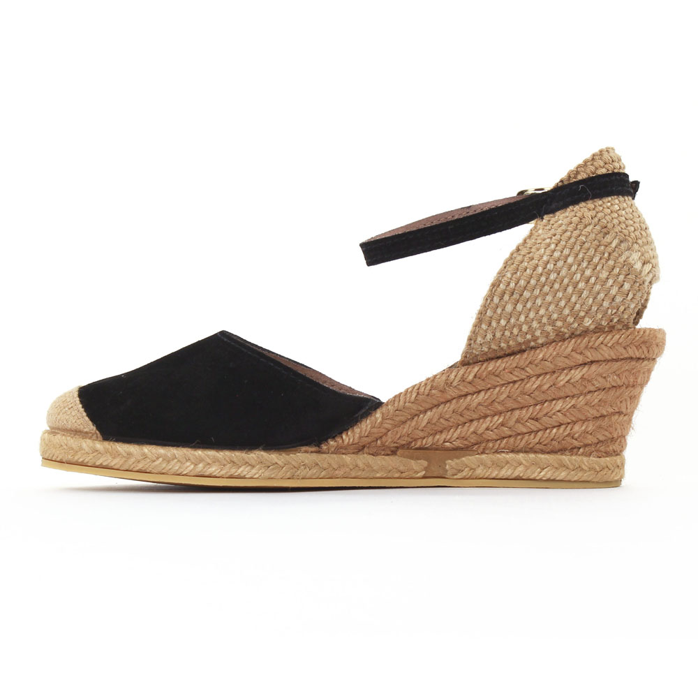 sandales espadrilles compenses amazing castaner femme sandales espadrilles en toile talon. Black Bedroom Furniture Sets. Home Design Ideas