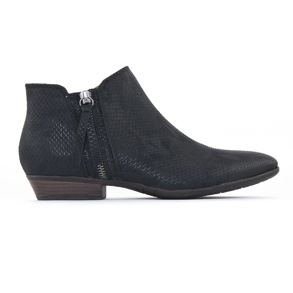 tamaris 25303 black | low boots noir printemps été chez trois par 3