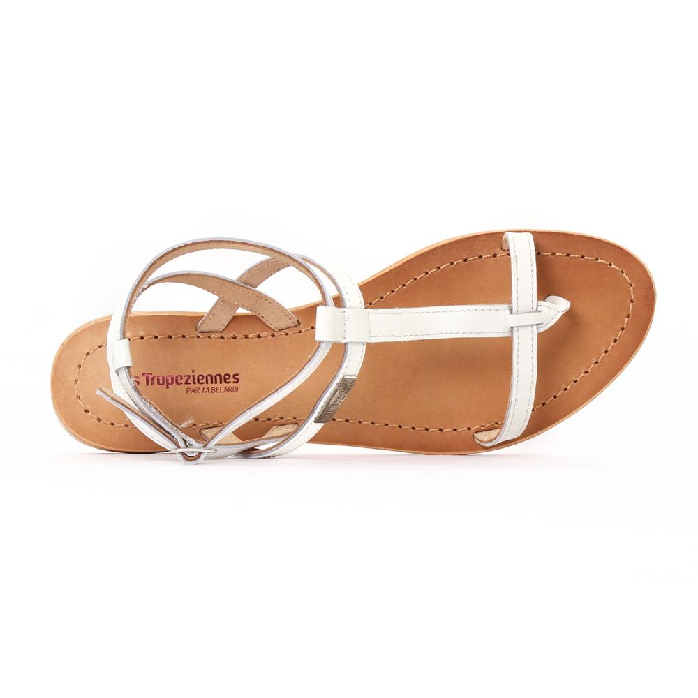 les tropeziennes hilan blanc sandales blanc printemps t chez trois par 3. Black Bedroom Furniture Sets. Home Design Ideas