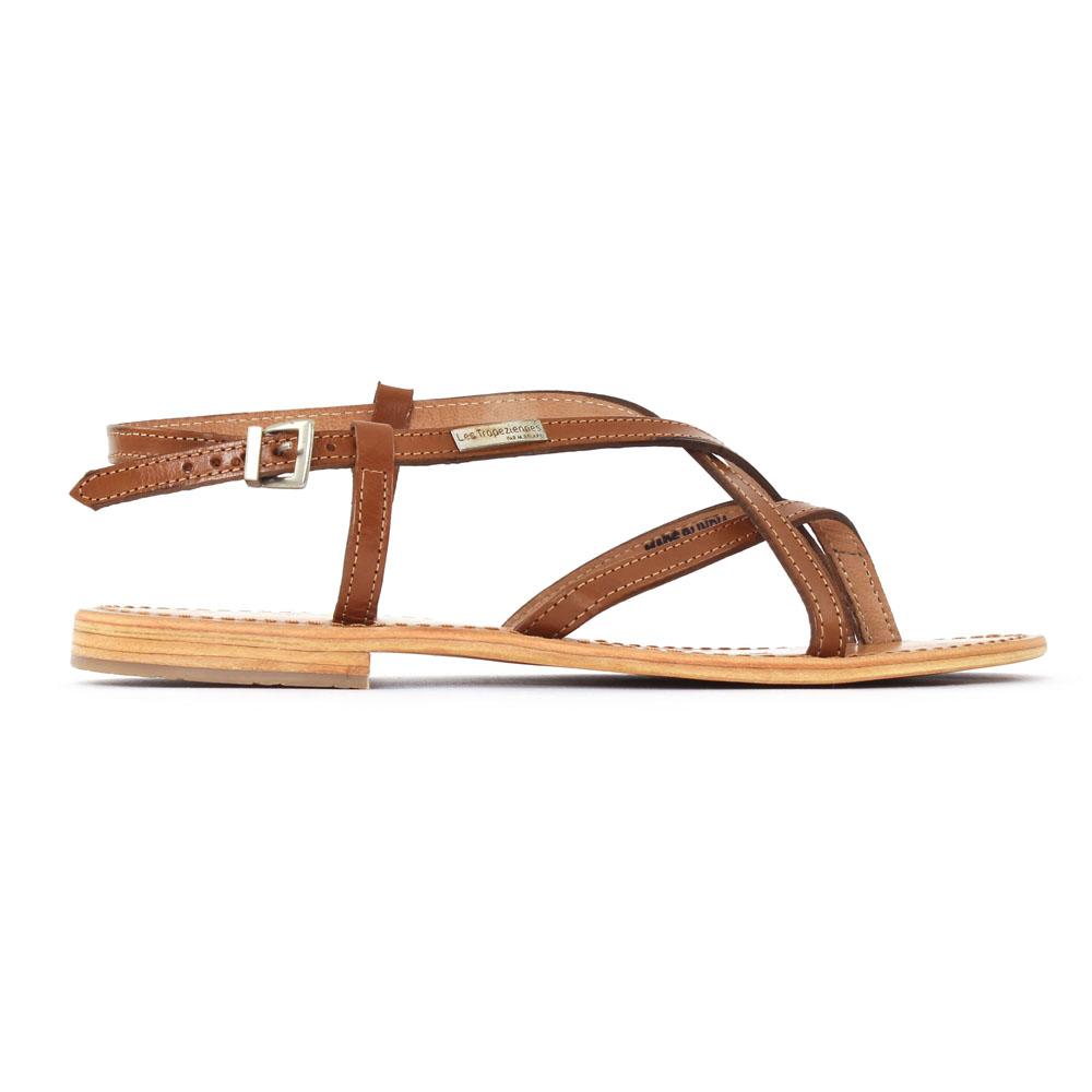 haute couture haute qualité 100% de qualité supérieure Les Tropeziennes Hiboux Tan | sandales marron printemps été ...