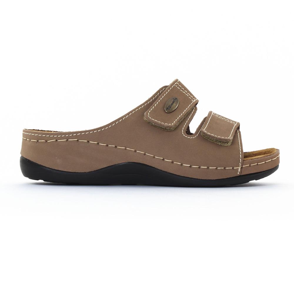 Tamaris 27510 Taupe | sandales marron printemps été chez