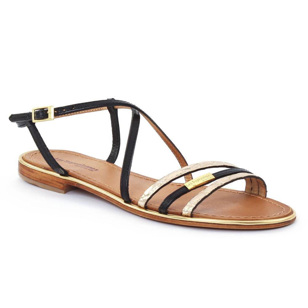 les tropeziennes balise noir sandales noir printemps t chez trois par 3. Black Bedroom Furniture Sets. Home Design Ideas
