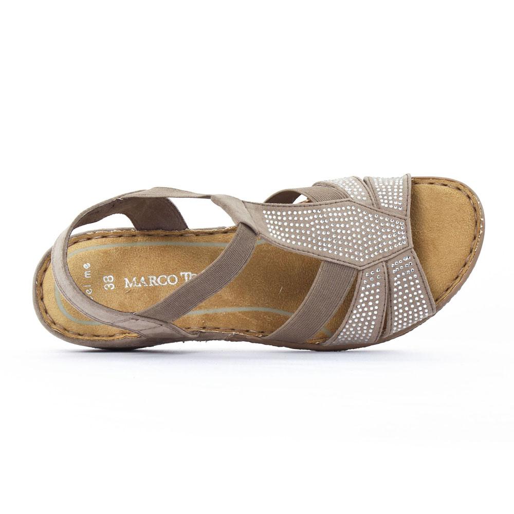 Femmes Beige Sandal Marco Tozzi
