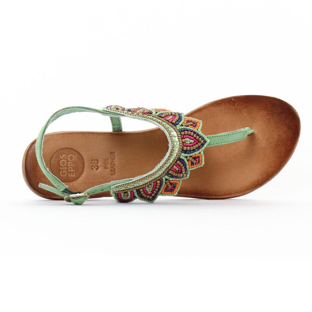 gioseppo 27466 green sandales vert printemps t chez trois par 3. Black Bedroom Furniture Sets. Home Design Ideas