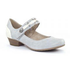 Chaussures femme été 2015 - babies talon tamaris gris