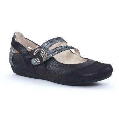 Babies Fugitive Drizy Metal noir, vue principale de la chaussure femme