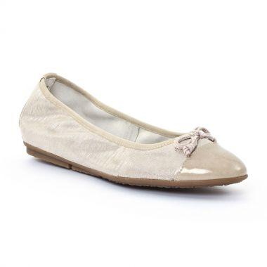 Ballerines Tamaris 22119 Gold, vue principale de la chaussure femme