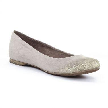Ballerines Marco Tozzi 22104 Taupe, vue principale de la chaussure femme
