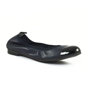 Ballerines Scarlatine 7296 Marine noir, vue principale de la chaussure femme
