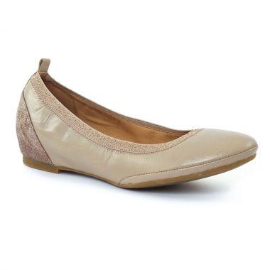 Ballerines Fugitive Blaser Beige Noisette, vue principale de la chaussure femme