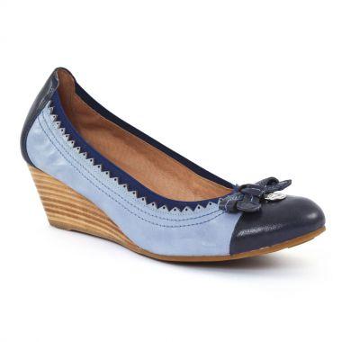 Ballerines Mamzelle Roca Kid Navy, vue principale de la chaussure femme