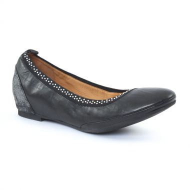Ballerines Fugitive Blaser Noir, vue principale de la chaussure femme