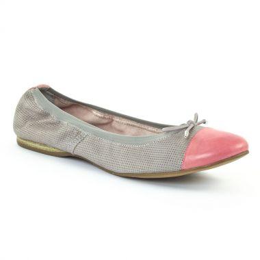 Ballerines Tamaris 22129 ston punch fuxia, vue principale de la chaussure femme