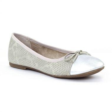 Ballerines Tamaris 22100 Grey, vue principale de la chaussure femme