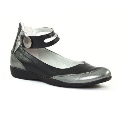 Ballerines Scarlatine 7877 Noir, vue principale de la chaussure femme