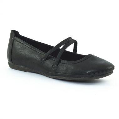 Ballerines Marco Tozzi 24224 Black, vue principale de la chaussure femme