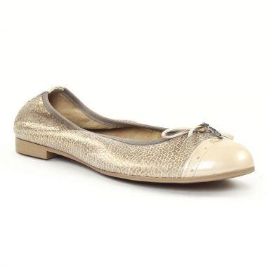 Ballerines Scarlatine 7768 Bronze Miel, vue principale de la chaussure femme