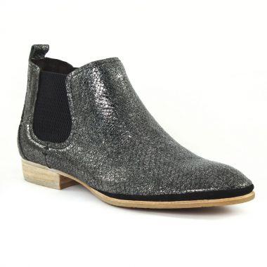 Bottines Et Boots UME - Matin d'Été Tabago Noir, vue principale de la chaussure femme