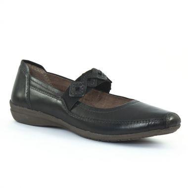 Babies Tamaris 22117 Black, vue principale de la chaussure femme