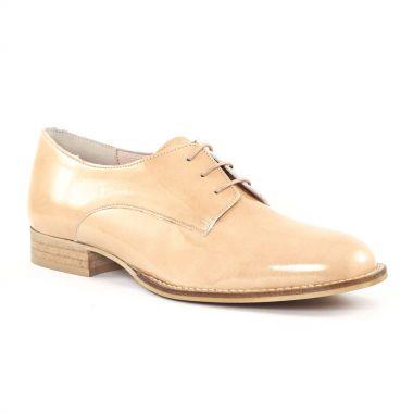 Chaussures À Lacets Scarlatine 22001T Nude, vue principale de la chaussure femme
