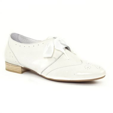 Chaussures À Lacets Scarlatine 8554e Ivoire, vue principale de la chaussure femme