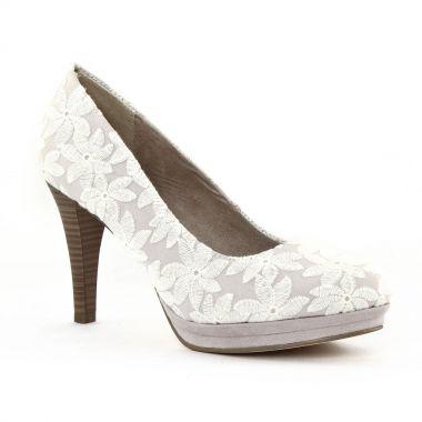 Escarpins Tamaris 22434 Ivoire, vue principale de la chaussure femme