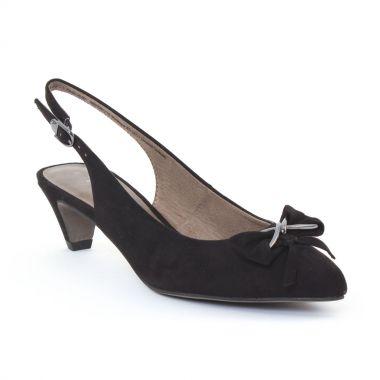 Escarpins Tamaris 29500 Black, vue principale de la chaussure femme