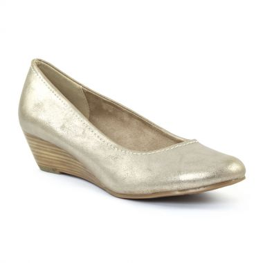 Escarpins Marco Tozzi 22303 Gold, vue principale de la chaussure femme