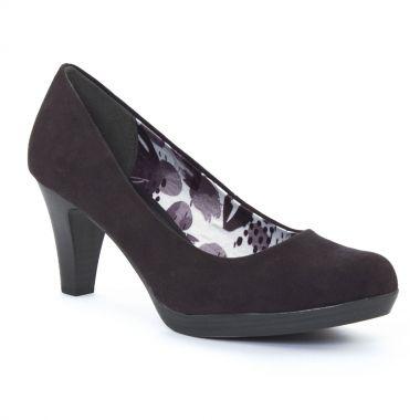 Escarpins Marco Tozzi 22411 Black, vue principale de la chaussure femme