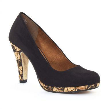 Escarpins Marco Tozzi 22416 Black, vue principale de la chaussure femme