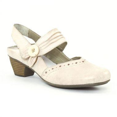 Escarpins Rieker 41747 Vanille, vue principale de la chaussure femme