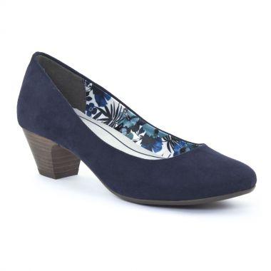 Escarpins Marco Tozzi 22310 Navy, vue principale de la chaussure femme