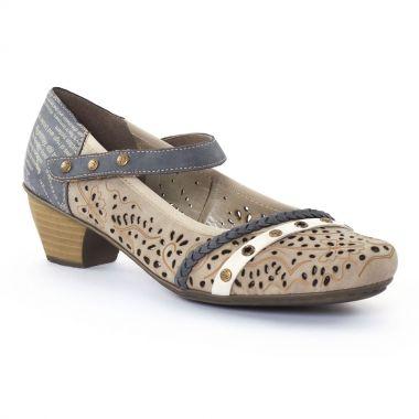 Escarpins Rieker 41756 Elefant, vue principale de la chaussure femme