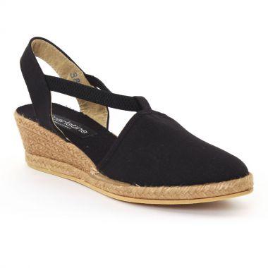 Espadrilles Scarlatine 4t99 Black, vue principale de la chaussure femme