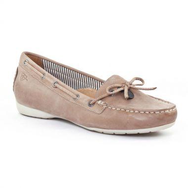Mocassins Tamaris 24607 Nude, vue principale de la chaussure femme