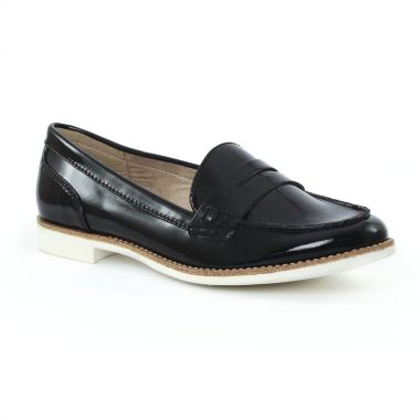 Mocassins Tamaris 24205 Black, vue principale de la chaussure femme