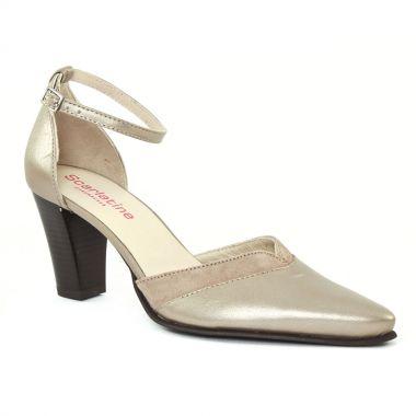 Nu Pieds Et Sandales Scarlatine Texan Fume, vue principale de la chaussure femme