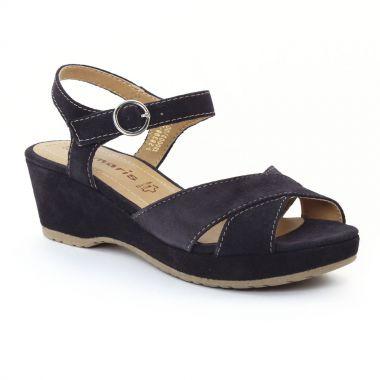 Nu Pieds Et Sandales Tamaris 28398 Navy, vue principale de la chaussure femme