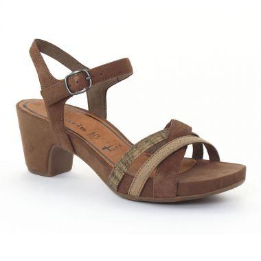 Nu Pieds Et Sandales Tamaris 28328 Terra, vue principale de la chaussure femme