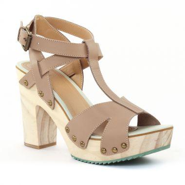 Nu Pieds Et Sandales Gioseppo 25590 Taupe, vue principale de la chaussure femme